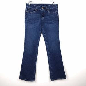 Loft Original Boot Cut Stretch Jeans Dark Wash